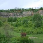 Gelände Steinbruch Baresel