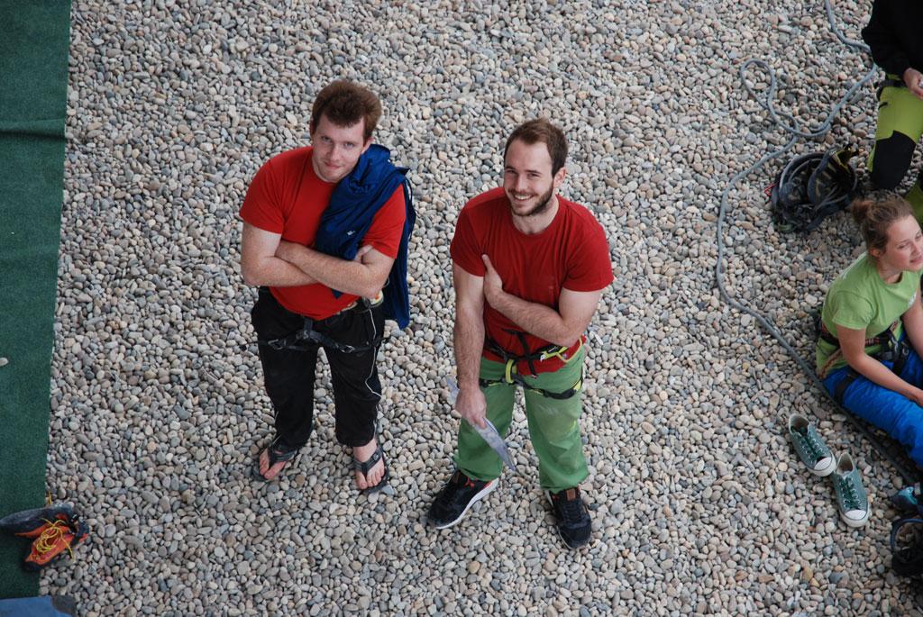 Kletterrouten - Unsere Schrauber Manu und Vale