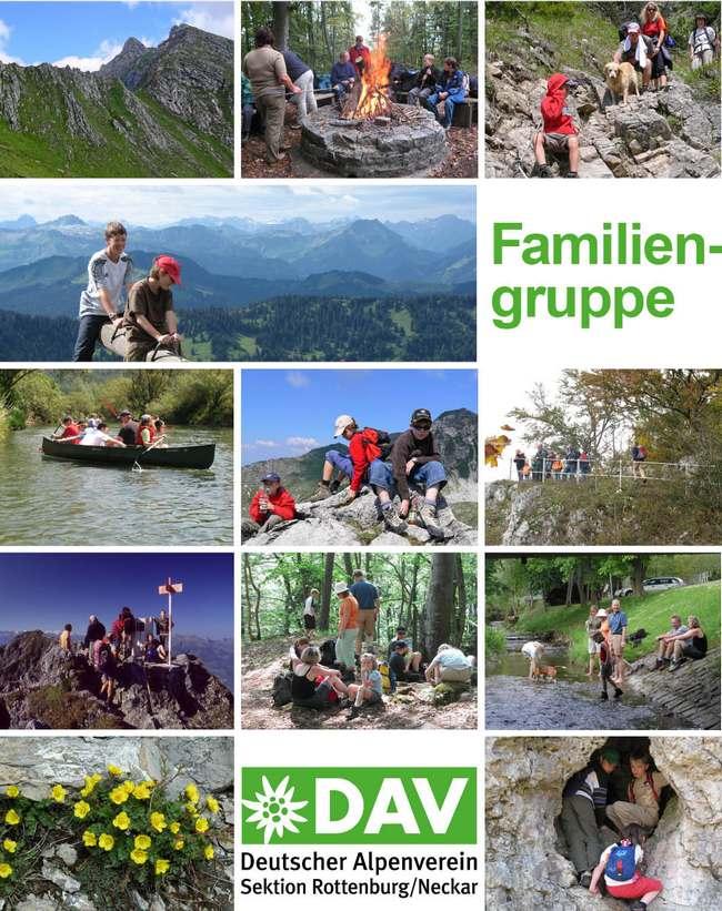 Alpenverein Rottenburg - Familiengruppe