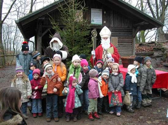 Nikolaus auf der Weilerburg