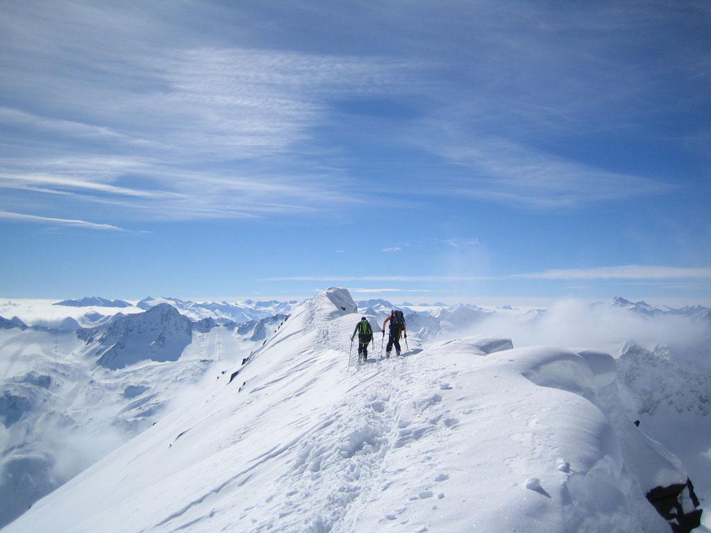 Stubaier Alpen - Im tiefsten Pulverschnee