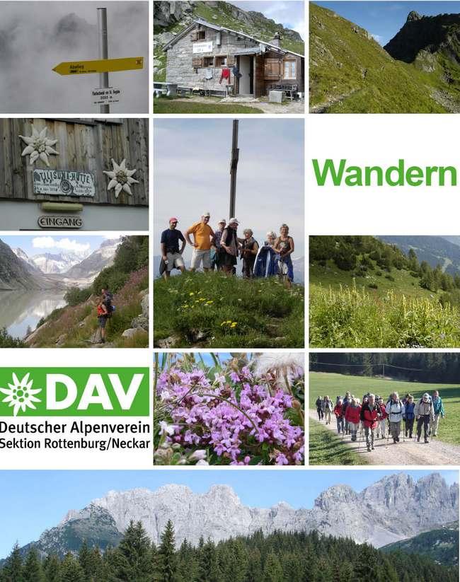 Alpenverein Rottenburg - Wandern