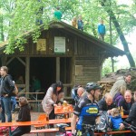 Die Schutzhütte an der Weilerburg