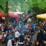 Der Platz vor der Weilerburg