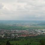 Blick auf Rottenburg und die Wurmlinger Kapelle