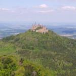Burg Hohenzollern - Blick vom Zellerhorn