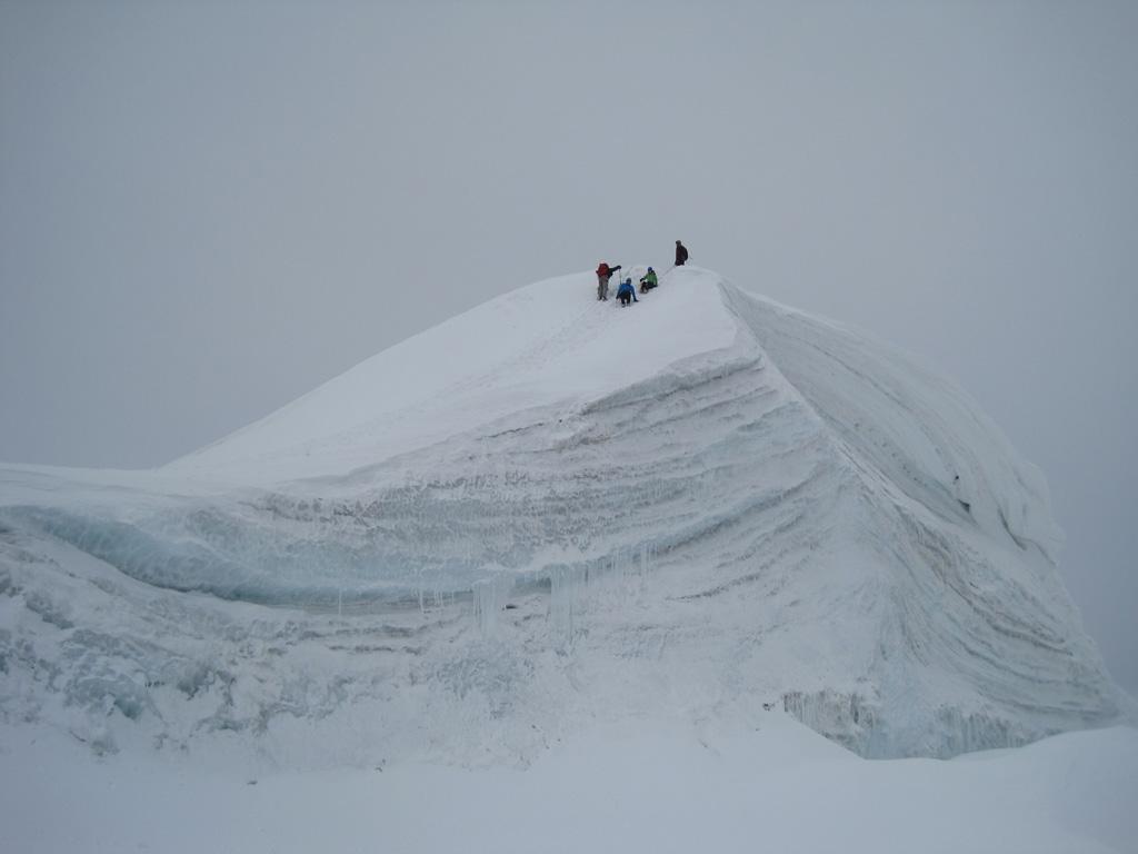Gipfelaufstieg Bishorn