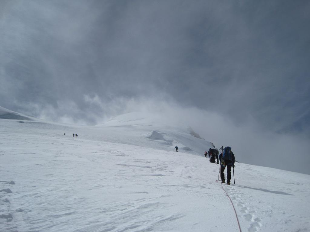 Bishorn - Aufstieg Turtmanngletscher