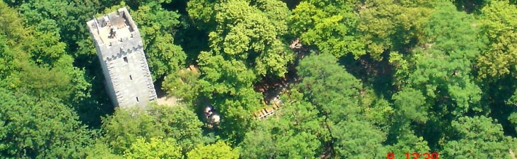 Luftaufnahme Weilerburg
