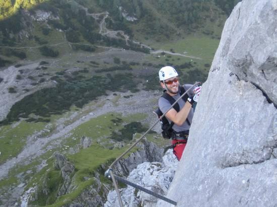 Klettersteig Coburger Hütte : Klettersteige um die coburger hütte alpenverein rottenburg