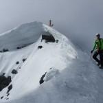 Bernd-fast-am-Gipfel