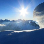 Blick-vom-Grat-Richtung-Aletschhorn