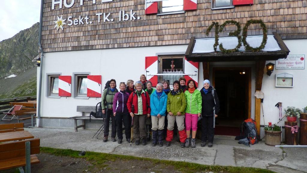 Die Innsbrucker Hütte im Stubaital