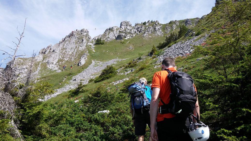 Klettersteig Rigidalstock : Brunnistöckli zittergrat und rigidalstock alpenverein rottenburg