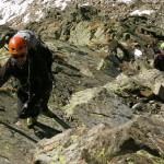 Kletterei am Ampferkogel