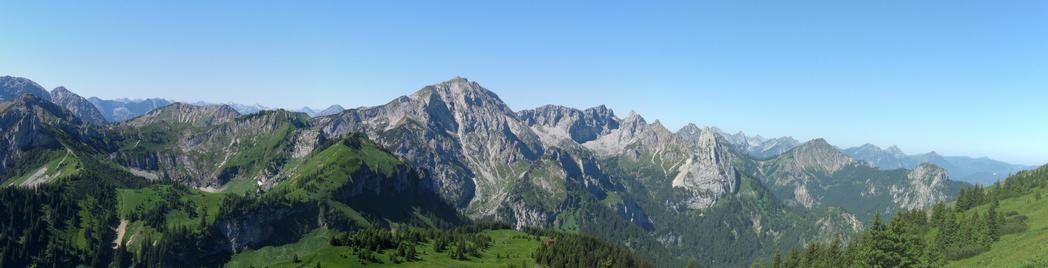 Ammergauer Alpenpanorama