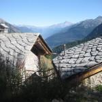 über den Dächern von Courmayeur