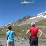 spektakulärer Hubschraubereinsatz