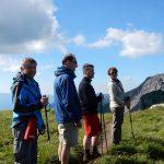 Oberhalb der Pfälzer Hütte, im Hintergrund der (Liechtensteiner) Augstenberg (2359m)