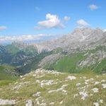 Augstenberg (2359m), Panüler Kopf (2860m), Salaruelkopf (2841m), Hornspitze (2537m), Augstenberg (Tschingel, 2541m)