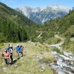 Aufstieg zur Edmund-Graf-Hütte