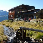Blick auf die Edmund-Graf-Hütte