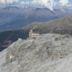 Payerhütte in Sicht