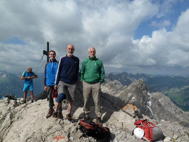 Gipfel Urbeleskarspitze