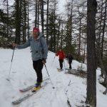Aufstieg Richtung Col di Sort