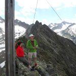 Gipfel Vordere Sommerwand
