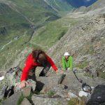 Grat am Gipfel Vordere Sommerwand