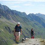 Auf der Moräne Alpeiner Ferner