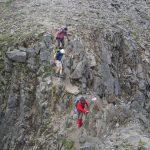 Übergang zum Gipfel Aperer Turm