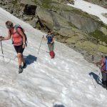 Übungen im Schneefeld