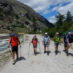 Aufstieg zum Refugio, am Torrente Savara