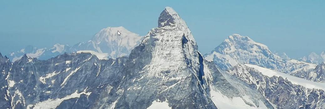 Matterhorn, von weitem